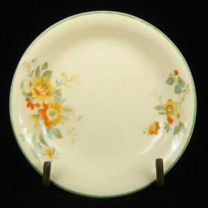 J & G Meakin Jacobean Ware Orange & Yellow Flowers Pin Dish