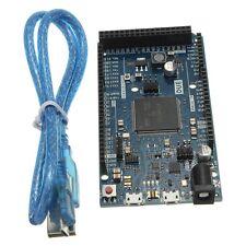 DUE R3 SAM3X8E 32 Bits ARM Cortex-M3 Module Board & Cable USB For Arduino X8I1