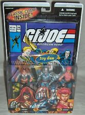 "G.I. JOE - Real American Hero! Comic #74 3-pack 3.75"" Action Figures"