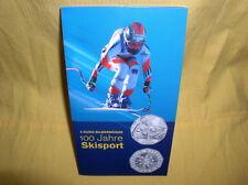 Österreich 5 Euro Silber 2005 hgh  Schisport gr. Blister