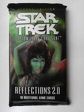 Star Trek ccg Reflections 2.0 booster pack