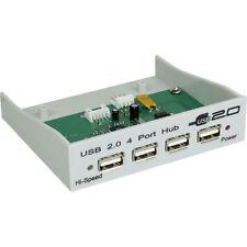 """Inline front panel USB 2.0, 4-especializada para el 8,89cm (3,5"""") pozo"""