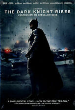 NEW DVD // THE DARK KNIGHT RISES // Christian Bale, Anne Hathaway, Tom Hardy, Ma