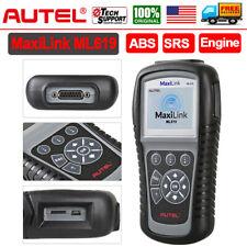 ABS SRS Reset Tool Engine Scanner Automotive OBD Car Diagnostic Tool Autel ML619