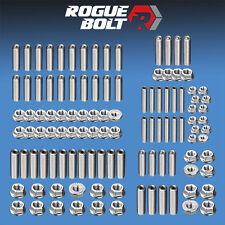 BBM BIG BLOCK MOPAR ENGINE STUD KIT BOLTS STAINLESS STEEL 383 400 413 426 440 RB