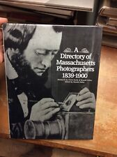 A Directory Of Massachusetts Photographers 1839-1900 Picton Press Ronald Polito