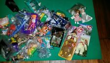 LOT McDONALD'S, WENDYS, BURGER KING Lot Of HAPPY MEAL TOYS FIGURES