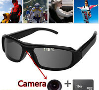 32GB DV DVR Hidden Spy Camera Sunglasses Cam Eyewear Video Camcorder 720P HD