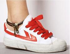Style Zipper Anklet Vintage Punk Retro