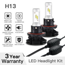 50W LED Headlight Conversion Kit H13 9008 For Dodge Ram 1500 2500 3500 2006-2008