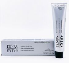 KENRA COLOR Permanent Coloring Creme 3oz and/or Developer (CHOOSE YOURS)