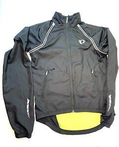Pearl Izumi Elite Series Black Cycling Jacket, Size Medium In LNC