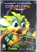 Creatures Village Video Game PC-CD Rom Windows 95 98 2000 ME XP