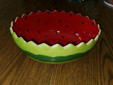 Avon Watermelon Bowl Hard To Find