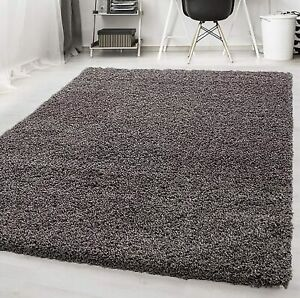Thick Deep Pile Shaggy Large Rugs Hallway Runner Rug Non Slip Living Room Carpet