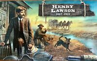 2017 AUSTRALIA STAMP PACK 'HENRY LAWSON'  MNH  MINI SHEET & 2 STAMPS