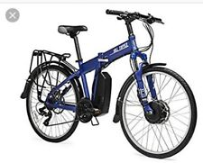 Hill topper Electric Tough  Folding Mountain Bike.