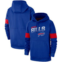 Buffalo Bills Hoodie 100th Anniversary Pullover Legendary Performance Jacket