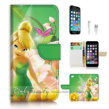 ( For iPhone 7 Plus ) Wallet Case Cover P3015 Tinkerbell