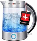 Pohl Schmitt 1.7L Electric Kettle Upgraded Stainless Steel Filter Glass Boiler photo