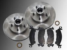 2 Bremsscheiben & Keramik Bremsklötze vorne Chevrolet G10 G20 1975-1993 Benziner