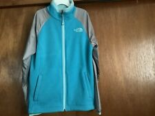 Girls North Face Full Zip Hoodie Size M (10/12)