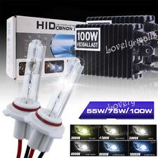 55W 75W 100W HID Xenon Conversion KIT Lamp All Bulb Size Colors Slim Ballasts LQ