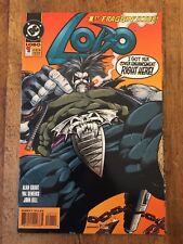 Lobo #1 1st Fraggin' Issue Alan Grant December 1993 Dc Comics (Nm 9.4 or better)