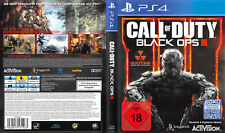 Call Of Duty: Black Ops III (Sony PlayStation 4, 2015, DVD-Box) Neuwertig
