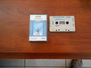 AC/DC Who Made Who -  Cassette tape ALBERT AUSTRALIA vgc free post