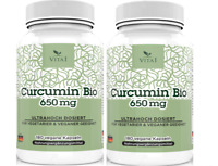 Curcumin Bio & Bioperine Kapseln BIO Kurkuma 360x Kapseln 1300mg Tagesportion