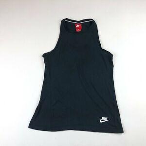 Nike Womens Black Dri Fit Sleeve Tank Top XS