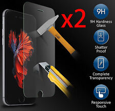 2X  Pellicola Vetro Apple Iphone 7 Protezione Schermo 4.7 NATALE IPHONE7 OFFERTA