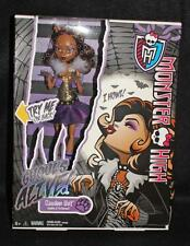 MONSTER HIGH GHOULS ALIVE CLAWDEEN WOLF DOLL WORKS HOWLS NRFB