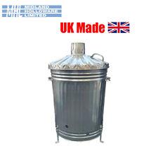 More details for 90 litre 18in taper incinerator galvanised burner for rubbish uk made quality!