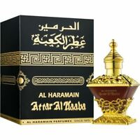 Attar Al Kaaba Perfume Oil 25ml Al Haramain Oud Amber Sandalwood Rose Floral