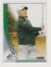 New listing Norman Xiong 2021 SP Game Used Golf Rookies #29 - Base RC Card