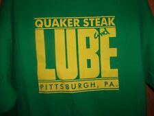 Pittsburgh PA Quaker Steak n Lube green XL t shirt