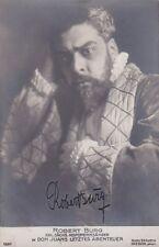 ROBERT BURG opera baritone signed photo in Don Juans Letztes Abenteuer