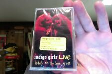Indigo Girls- Live- new/sealed cassette tape