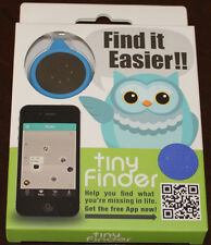 tinyFinder, Mini Bluetooth Device for Lost and Found, Brand NEW, Blue / Black