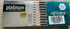APSARA EXTRA DARK PENCILS VALUE PACK INCL SHARPENER ERASER SCALE HANDWRITING