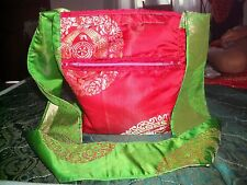UNIQUE WOMENS LADIES GIRLS FUNKY / SCHOOL / FESTIVAL / BEACH STRONG HAND BAG