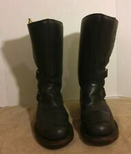 Chippewa Motorcycle Work Boots Mens 8.5 EE.  Steel Toed. Condition is Pre-Owned.