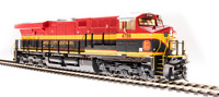 BROADWAY LIMITED 5870 HO ES44AC KCS 4786 So Belle Paragon3 Sound/DC/DCC/SMOKE