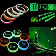 Glow In The Dark Luminous Fluorescent Night Self-adhesive Tape Safety Sticker