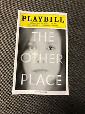 The Other Place December 2012 Broadway Playbill