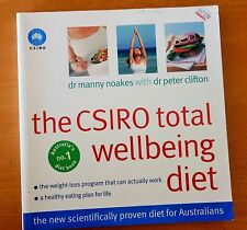 THE CSIRO TOTAL WELLBEING DIET COOKBOOK BOOK DR MANNY NOAKES PETER CLIFTON