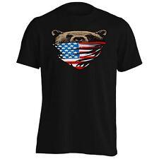 My American Bear USA flag Scarf Men's T-Shirt/Tank Top aa187m
