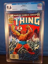 The Thing #1 CGC 9.6 NM+ White Pages. Byrne story and cover. Newstand Edition